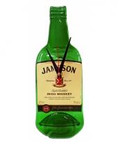 Handgemaakte jameson whiskey klok
