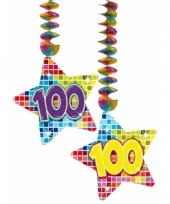 Hangdecoratie 100e verjaardag