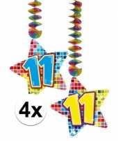 Hangdecoratie 11e verjaardag 10126594