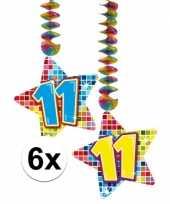 Hangdecoratie 11e verjaardag 10126603