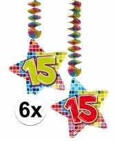 Hangdecoratie 15e verjaardag 10126758
