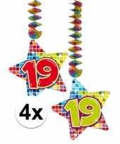 Hangdecoratie 19e verjaardag 10126763