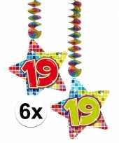 Hangdecoratie 19e verjaardag 10126764