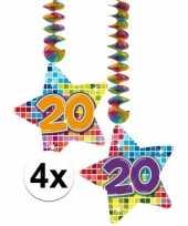 Hangdecoratie 20e verjaardag 10126765