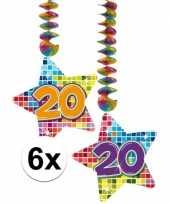 Hangdecoratie 20e verjaardag 10126766