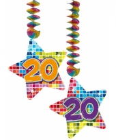Hangdecoratie 20e verjaardag