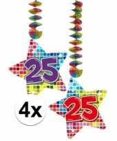 Hangdecoratie 25e verjaardag 10126446