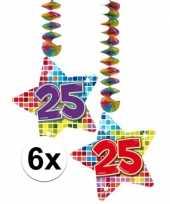 Hangdecoratie 25e verjaardag 10126447