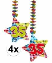 Hangdecoratie 35e verjaardag 10126771