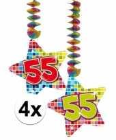 Hangdecoratie 55e verjaardag 10126775