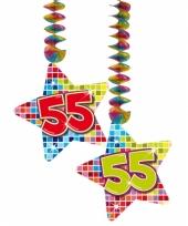 Hangdecoratie 55e verjaardag