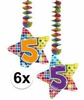 Hangdecoratie 5e verjaardag 10126568