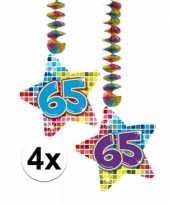 Hangdecoratie 65e verjaardag 10126460