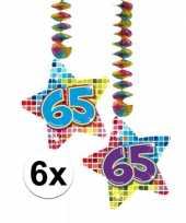 Hangdecoratie 65e verjaardag 10126461