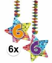 Hangdecoratie 6e verjaardag 10126578