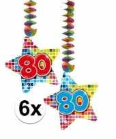Hangdecoratie 80e verjaardag 10126485
