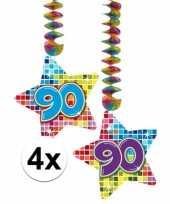Hangdecoratie 90e verjaardag 10126510