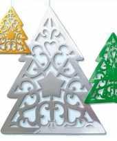 Hangdecoratie kerstbomen 50 cm