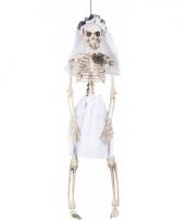 Hangend decoratie skelet bruid