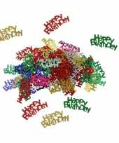 Happy birthday verjaardag confetti 60 gram