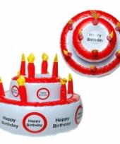 Happy birthday versierings taart