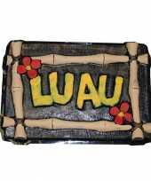 Hawaii versiering luau bord