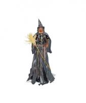 Heksen pop 110 cm met licht en geluid