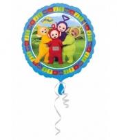 Helium ballon met teletubbies print 43 cm