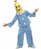 Herenkostuum bananen in pyjamas