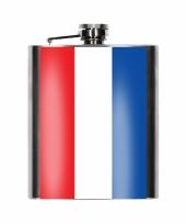 Heupflesjes nederlandse vlag 200 ml