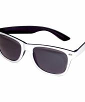 Hippe zwart witte funbril