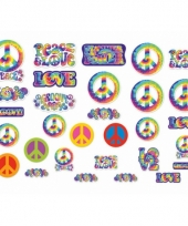 Hippie feest decoratie 30 stuks