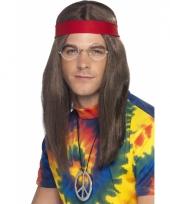 Hippie pakketje met pruik