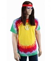 Hippie verkleedkleding shirt explosion