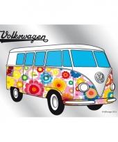 Hippie wandspiegel volkswagen t1
