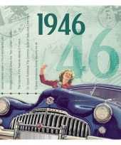 Hits uit 1946 verjaardagskaart