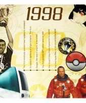 Hits uit 1998 verjaardagskaart