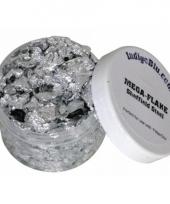 Hobby folie zilveren steentjes