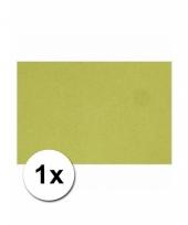 Hobby papier groen karton a4