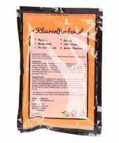 Holi powder oranje 100 gram