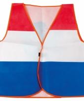 Holland fan vestje in nederlandse kleuren