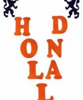 Holland stickers met leeuwen