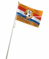 Hollandse voetbal vlag 100x150 cm