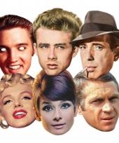 Hollywood sterren gezichtmaskers