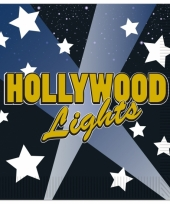 Hollywood thema servetten