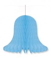 Honeycomb klok blauw 20 cm 10076953