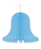 Honeycomb klok blauw 30 cm 10076967