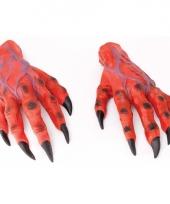 Horror handen van een duivel