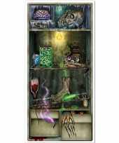 Horror koelkast scenesetter deurposter halloween 76 x 152 cm