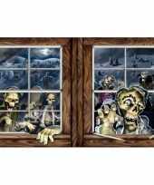 Horror raam poster
